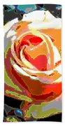 Medallion Rose Beach Towel