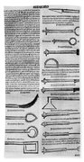 Medical Instruments, 1531 Beach Towel