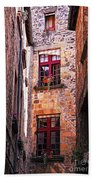 Medieval Architecture Beach Towel by Elena Elisseeva