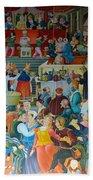 Medieval Banquet Beach Towel