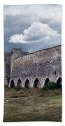 Medieval City Wall Defence Beach Towel