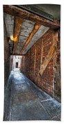 Medieval Doorway Beach Towel
