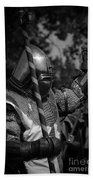 Medieval Faire Knight's Victory 1 Beach Towel