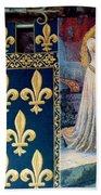 Medieval Tapestry Beach Towel