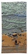 Meditation Beach Towel by Ron Shoshani