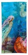 Medusa's Garden Beach Towel