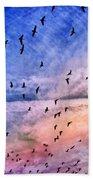 Meet Me Halfway Across The Sky 2 Beach Towel by Angelina Vick