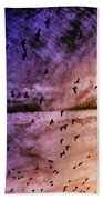 Meet Me Halfway Across The Sky 3 Beach Towel by Angelina Vick