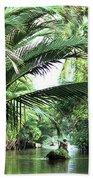 Mekong Delta Backwater 01 Beach Towel