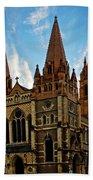 Melbourne Church Beach Towel