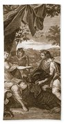 Meleager Presents The Boars Head Beach Towel