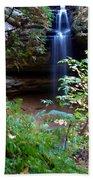 Memorial Falls I Beach Towel