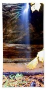 Memorial Falls IIi Beach Towel
