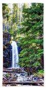 Memorial Falls In Montana Beach Towel