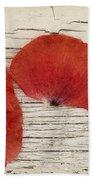 Memories Of A Summer Horizontal Beach Towel by Priska Wettstein