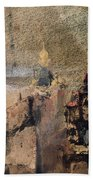 Memory Of Spain Beach Towel by Victor Hugo