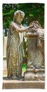 Memphis Elmwood Cemetery Monument - Cassie Hill Beach Towel