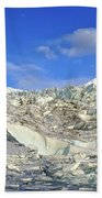 Mendenhall Glacier Beach Towel
