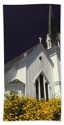Mendocino Presbyterian Church Beach Towel