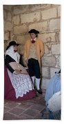 Menorquins Dress And Suit  Back In Time Xviii Century Beach Towel
