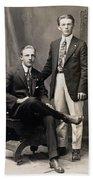 Men's Fashion, 1917 Beach Towel