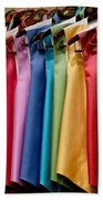 Mens Tuxedo Vests In A Rainbow Of Colors Beach Towel