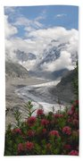 Mer De Glace - Sea Of Ice Beach Towel