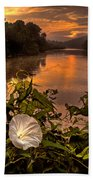 Meramec River At Chouteau Claim Beach Towel