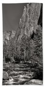Merced River Yosemite Beach Towel