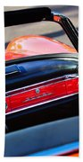 Mercedes 300 Sl Dashboard Emblem Beach Towel