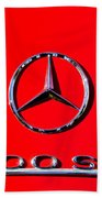 Mercedes 300 Sl Emblem -0121c Beach Towel