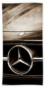Mercedes-benz Grille Emblem Beach Sheet