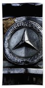 Mercedes Benz Shabby Chic Beach Towel
