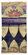 Mercury Grill Sketch Beach Towel