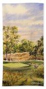 Merion Golf Club Beach Towel by Bill Holkham