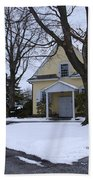 Merion Meeting House - Narberth Pa Beach Towel by Bill Cannon