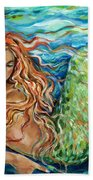 Mermaid Sleep New Beach Towel