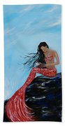 Mermaids Timeless Tales Beach Towel
