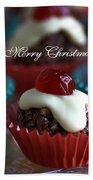 Merry Christmas - Puddings Beach Towel