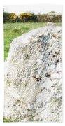 Merry Maidens Stone Circle Cornwall Beach Towel