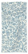 Merton Wallpaper Design Beach Towel