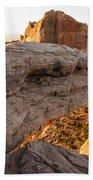 Mesa Arch Sunrise 6 - Canyonlands National Park - Moab Utah Beach Towel