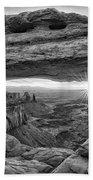 Mesa Arch Sunrise Beach Towel