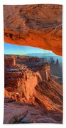 Mesa Sunrise Glow Beach Towel