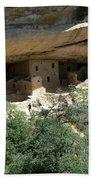 Mesa Verde Cliff Dwellings  Beach Towel