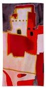 Mesa Verde Original Painting Sold Beach Towel