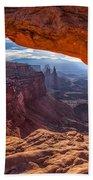 Mesa's View Beach Towel by Darren  White