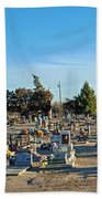 Mesilla Nm Cemetery 3   Beach Towel