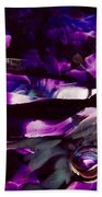 Mesmerize Purple II Beach Towel