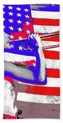 Mess Call Methodist  Service  At Camp Nathan Hale Southfields New York 1943-2014   Beach Towel